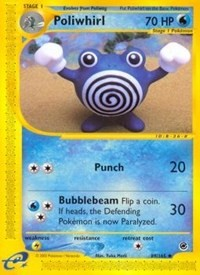 Poliwhirl, Pokemon, Expedition