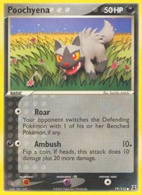 Poochyena, Pokemon, Delta Species
