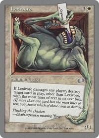 Lexivore, Magic: The Gathering, Unglued