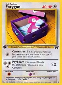 Porygon, Pokemon, Team Rocket
