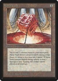 Mana Vault, Magic: The Gathering, Beta Edition