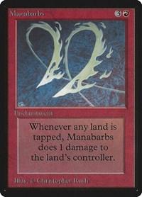 Manabarbs, Magic: The Gathering, Beta Edition