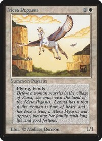 Mesa Pegasus, Magic: The Gathering, Beta Edition