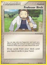 Professor Birch, Pokemon, Emerald