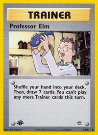 Professor Elm, Pokemon, Neo Genesis