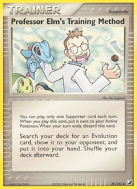 Professor Elm's Training Method, Pokemon, Unseen Forces