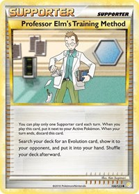 Professor Elm's Training Method, Pokemon, HeartGold SoulSilver