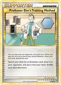 Professor Elm's Training Method, Pokemon, Call of Legends