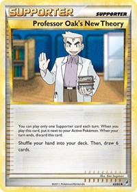 Professor Oak's New Theory, Pokemon, Call of Legends