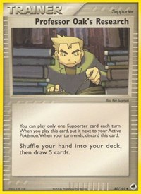 Professor Oak's Research, Pokemon, Dragon Frontiers