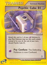 Psychic Cube 01, Pokemon, Aquapolis