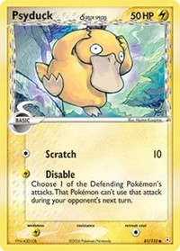 Psyduck (Delta Species), Pokemon, Holon Phantoms