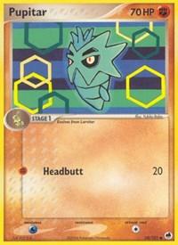 Pupitar, Pokemon, Dragon Frontiers