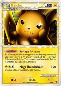 Raichu (Prime), Pokemon, Undaunted