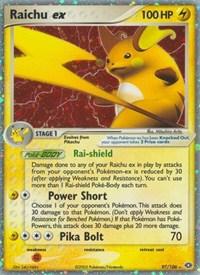 Raichu ex, Pokemon, Emerald