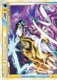 Raikou & Suicune Legend (Top), Pokemon, Unleashed