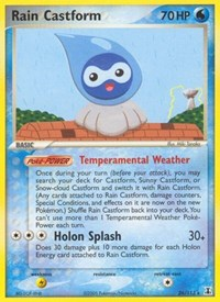 Rain Castform, Pokemon, Delta Species