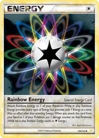 Rainbow Energy, Pokemon, HeartGold SoulSilver