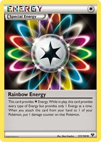 Rainbow Energy, Pokemon, XY Base Set