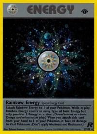 Rainbow Energy (17), Pokemon, Team Rocket