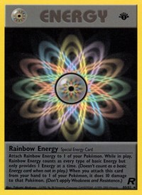 Rainbow Energy, Pokemon, Team Rocket