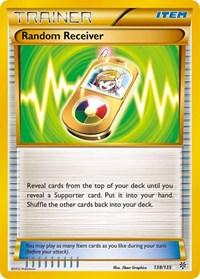 Random Receiver, Pokemon, Plasma Storm