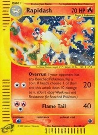 Rapidash (26), Pokemon, Expedition