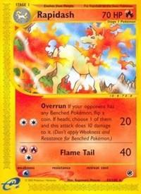 Rapidash (62), Pokemon, Expedition