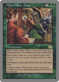 Mine, Mine, Mine!, Magic: The Gathering, Unglued