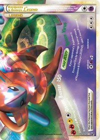 Rayquaza & Deoxys Legend (Bottom), Pokemon, Undaunted