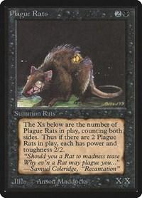 Plague Rats, Magic: The Gathering, Beta Edition