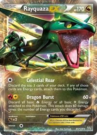 Rayquaza EX, Pokemon, Dragons Exalted