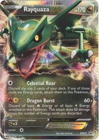 Rayquaza EX, Pokemon, Black and White Promos