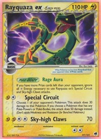 Rayquaza ex (Delta Species), Pokemon, Dragon Frontiers