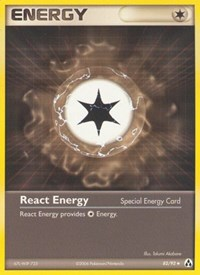 React Energy, Pokemon, Legend Maker