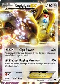 Regigigas EX, Pokemon, Next Destinies