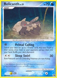 Relicanth, Pokemon, Great Encounters