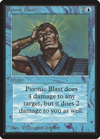 Psionic Blast, Magic: The Gathering, Beta Edition
