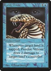 Psychic Venom, Magic, Beta Edition