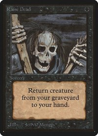 Raise Dead, Magic: The Gathering, Beta Edition