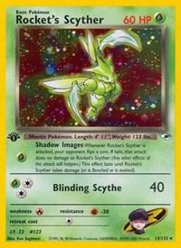 Rocket's Scyther, Pokemon, Gym Heroes