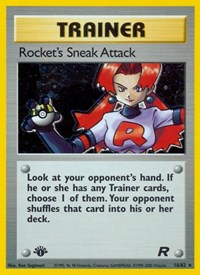 Rocket's Sneak Attack (16), Pokemon, Team Rocket