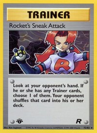 Rocket's Sneak Attack (72), Pokemon, Team Rocket