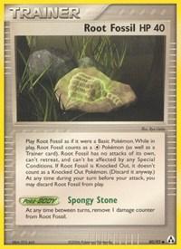Root Fossil, Pokemon, Legend Maker