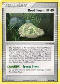 Root Fossil, Pokemon, Holon Phantoms