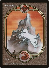 Mountain - Unglued, Magic: The Gathering, Unglued