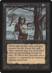 Scavenging Ghoul, Magic: The Gathering, Beta Edition