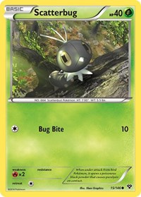 Scatterbug, Pokemon, XY Base Set