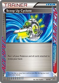 Scoop Up Cyclone, Pokemon, Plasma Blast