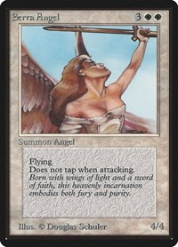 Serra Angel, Magic: The Gathering, Beta Edition